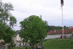 Stavění máje 2008