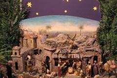 Žehnání vína, vánoční výzdoba kostela a detail šitbořského betlému
