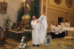 Žehnání mariánského ornátu