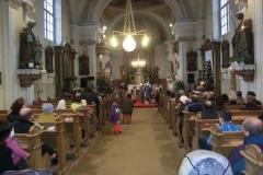 Vánoční scénka v Nikolčicích