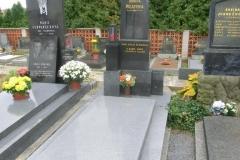Vysočina - hrob O. Macha