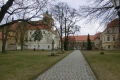 Návštěva rajhradského kláštera