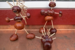 Drakiáda a výroba z kaštanů