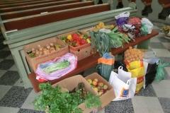 Poděkování za úrodu a odvoz do Betléma