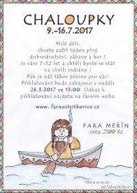 Chaloupky 2017