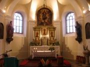 Divácký kostel - interiér