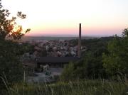 Pohled na obec z Domanin