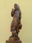 Studna Štengar - socha Aničky, odhalená k 750. výročí od 1. písemné známky o obci